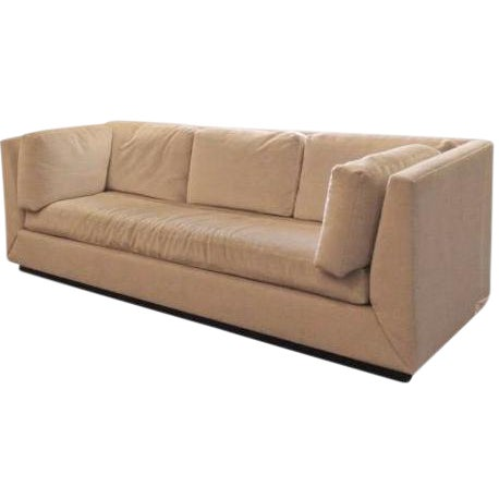 Offering a luxury Donghia sofa in mint condition. Angelo Donghia founded his eponymous furniture and accessories brand...