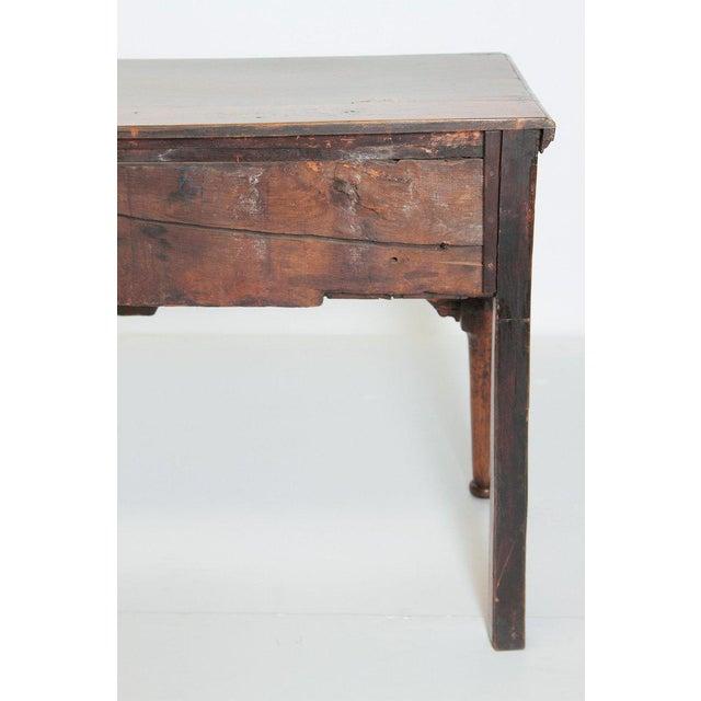 Oak English Early 19th Century Oak Three Drawer Dresser Base For Sale - Image 7 of 13