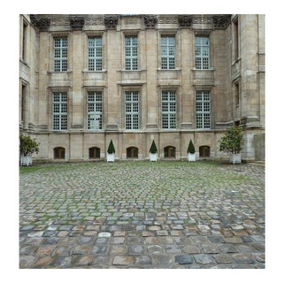 Photography of Courtyard, Musee De La Chasse Et Nature, Paris For Sale
