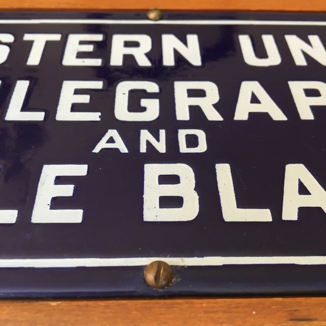 Western Union Telegraph & Cable Blanks Box For Sale - Image 11 of 12