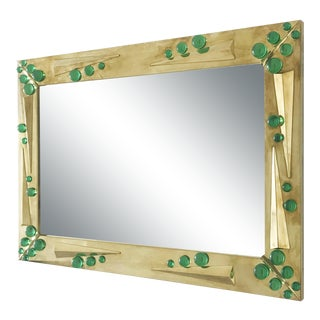 Fabio Ltd Verde Mirror For Sale