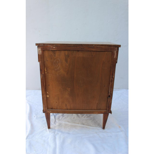 19th Century Italian Fruitwood Nightstand For Sale In New York - Image 6 of 12