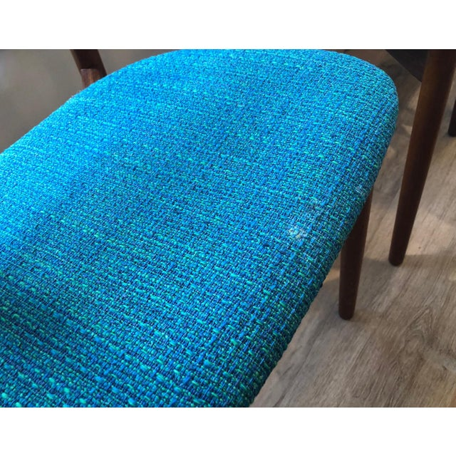 Turquoise 1960s Harry Østergaard for Randers Møbelfabrik Dining Chairs - Set of 8 For Sale - Image 8 of 13