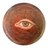 Image of Antique Wooden Geisha Powder Box For Sale