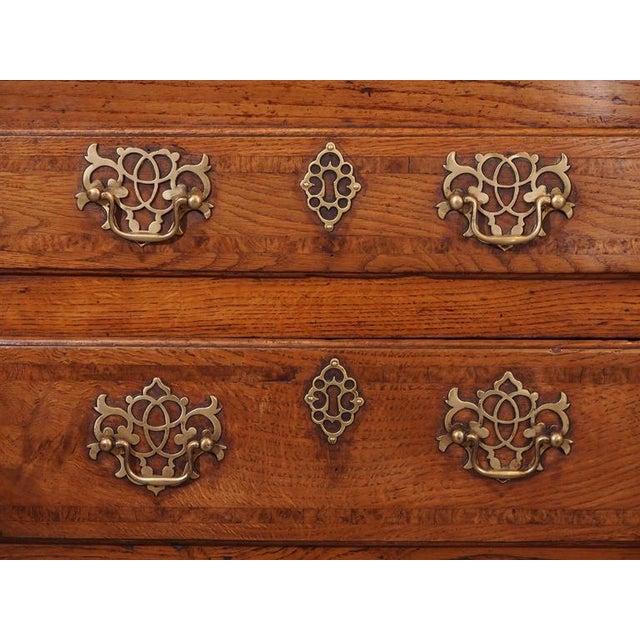 Walnut Antique English Dresser Base For Sale - Image 7 of 8
