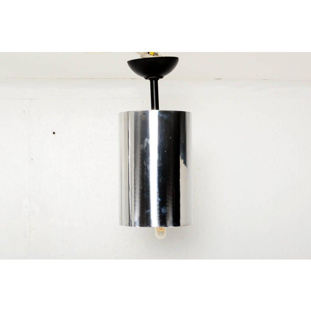 Modern Set of 6 Aluminum Hanging Lamps For Sale - Image 3 of 6