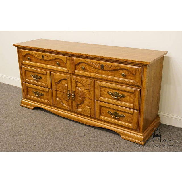 Dixie Vintage Dixie Asian Chinoiserie Triple Dresser For Sale - Image 4 of 13