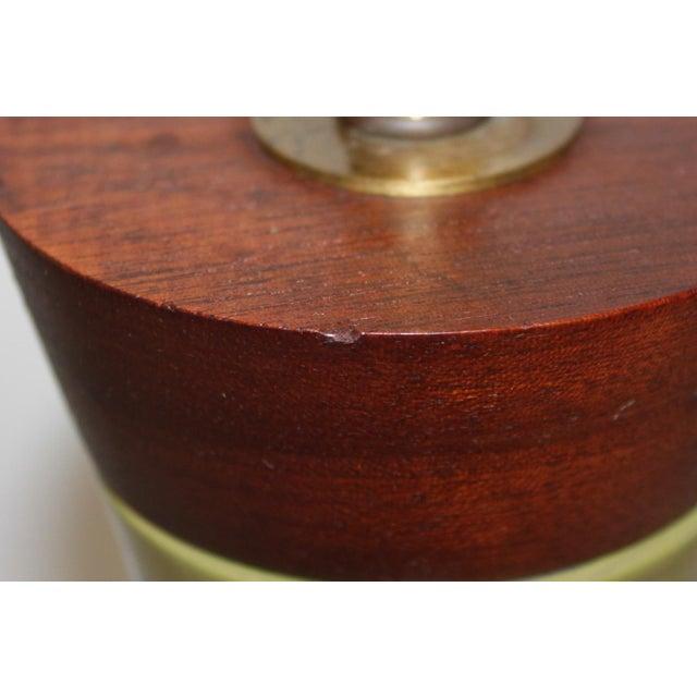 Mid-Century Modern Raymor Italian Pottery Lamp - Image 8 of 9