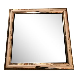 Jon Gilmore Gold Mirrored Frame Mirror