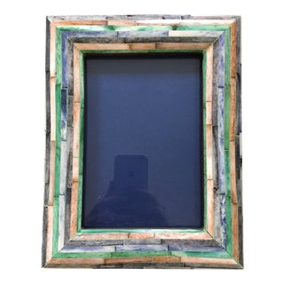 Bone Inlay Picture Frame For Sale