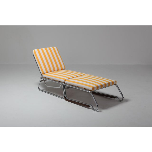 Tubular Chrome Lounge Chair For Sale - Image 6 of 11