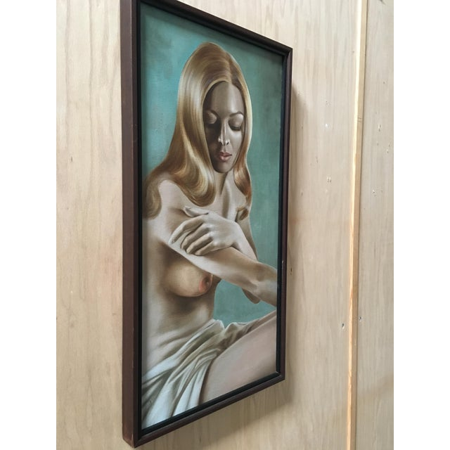 Mid 20th Century Nude Oil Painting by Lynn Lupetti, 1970s For Sale - Image 5 of 8