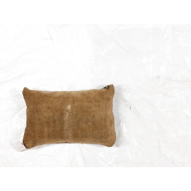 Antique Chinese Rug Fragment Pillow - Image 3 of 4
