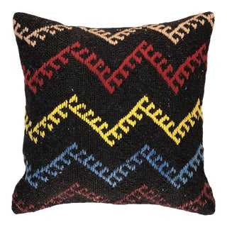 """Eclectic Electric Kilim Pillow 