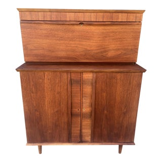 Mid-Century Pull Down Bar