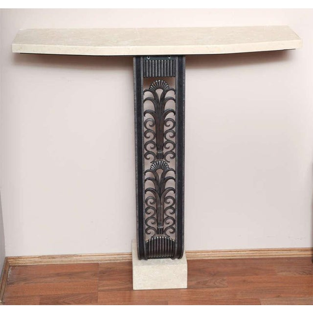 Modern Art Deco Style Console in the mannerof Brandt For Sale - Image 9 of 9