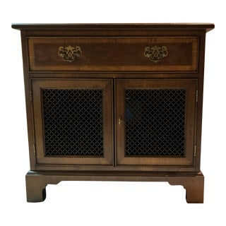 18th Century Henredon Portfolio Nightstand For Sale