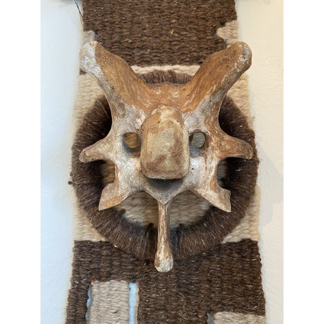 Stunning natural wool wall decor ready fit your cabin or home!