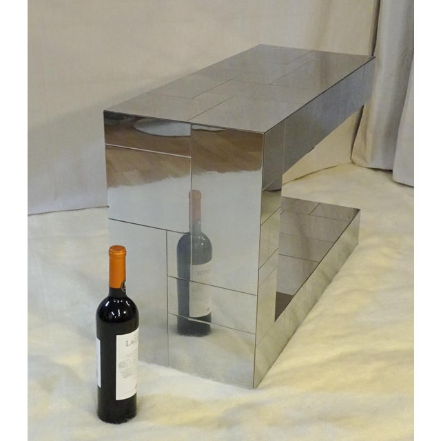 1970s Mid-Century Modern Paul Evans Cityscape Side Table For Sale In Miami - Image 6 of 11