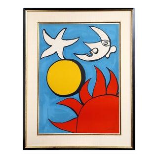 Alexander Calder, Potpourri en Ciel, 1975