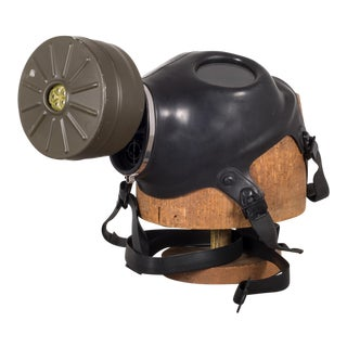 u.s. Military Gas Mask, Circa 1970s For Sale