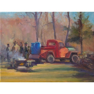 """Sap Boil Gathering"" Painting For Sale"