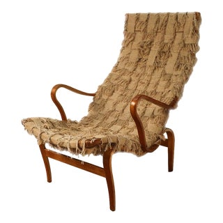 Mid Century Danish Bruno Mathsson Pernilla Lounge Chair Sweden 1961