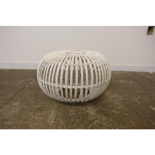 This design by Franco Albini can be used as an ottoman or stool or purely decor. There are some breaks so please be sure...