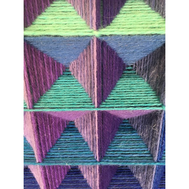 Purple 1990s Dora Hsiung Woven Sculpture For Sale - Image 8 of 11