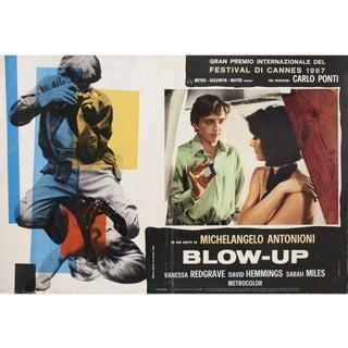 Blow-Up 1968 Italian Fotobusta Film Poster For Sale