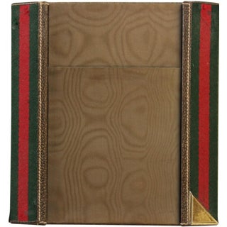 Gucci Green & Red Desk Blotter