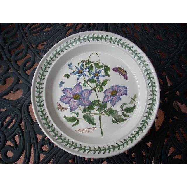 Portmeirion floral dinner plates set of 4 chairish for Portmeirion dinnerware set of 4 botanic garden canape plates
