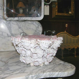 1960s Vintage Shell Encrusted Flower Planter Preview