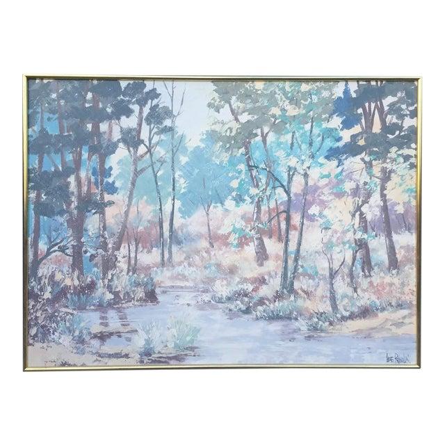 Lee Reynolds Vanguard Studios Oil Painting For Sale