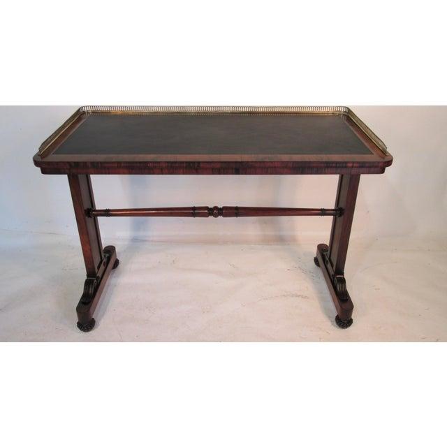 Joseph Gerte Rosewood Desk For Sale - Image 12 of 12