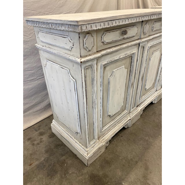 Mid 20th Century Italian Painted Buffet Cabinet For Sale - Image 5 of 10