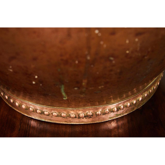 Hammered Copper Dutch Samovar For Sale - Image 4 of 7