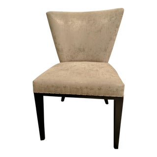 Faux Silk Side Chair