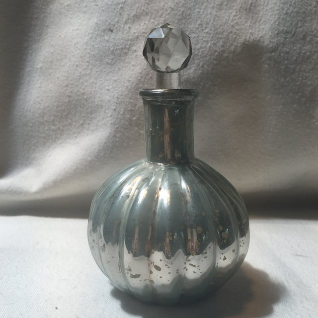 Mercury Glass Decanters - Set of 3 - Image 6 of 7