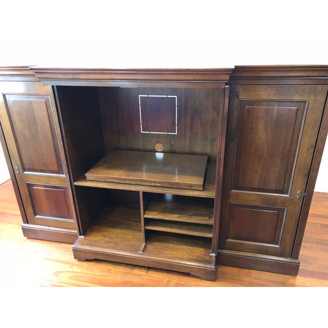 Grange Louis-Philippe Entertainment Center/Armoire For Sale - Image 5 of 11