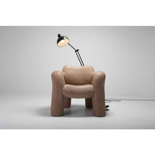 3D Blown-Up With Lamp in Vegan Leather Coating by Schimmel & Schweikle For Sale - Image 7 of 11