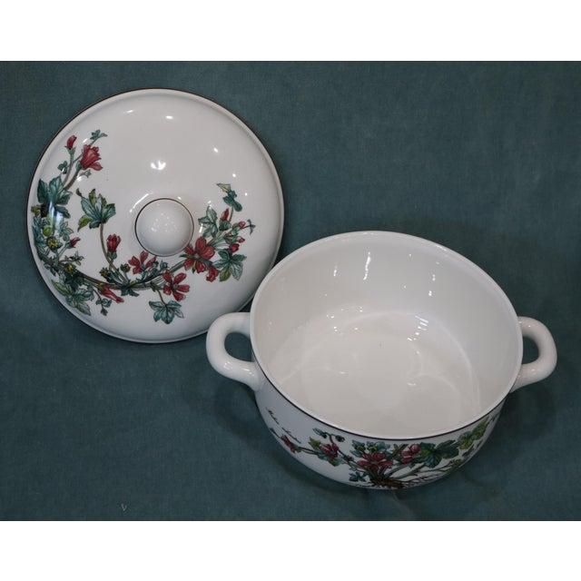 Villeroy & Boch Vintage Villeroy & Boch Botanica Covered Vegetable Serving Bowl For Sale - Image 4 of 7