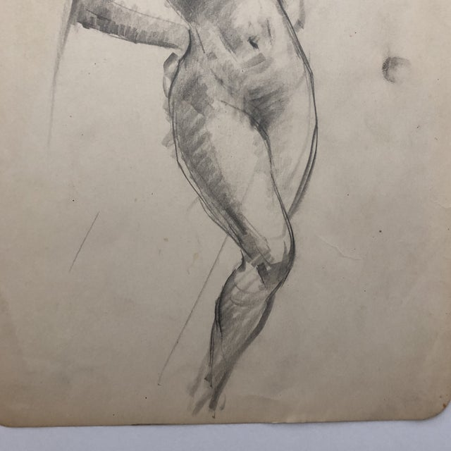 1930s Female Nude by Henry Gasser For Sale - Image 4 of 7