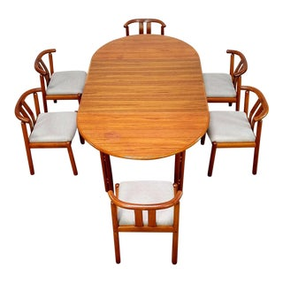 1960s Danish Modern Dining Set - 7 Pieces For Sale