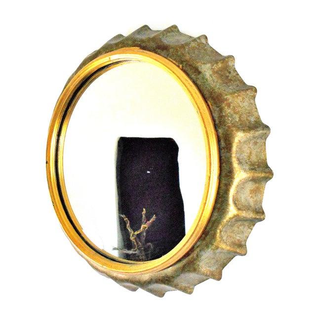 Bottle Cap Wall Mirror - Image 3 of 6
