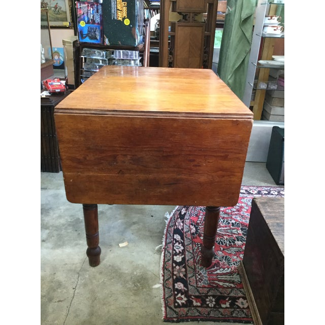 Brown 20th Century Country Flour Bin Table For Sale - Image 8 of 13