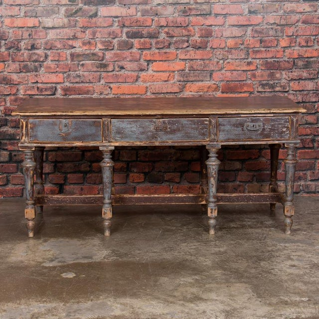 Country 19th Century Country Work Table For Sale - Image 3 of 9