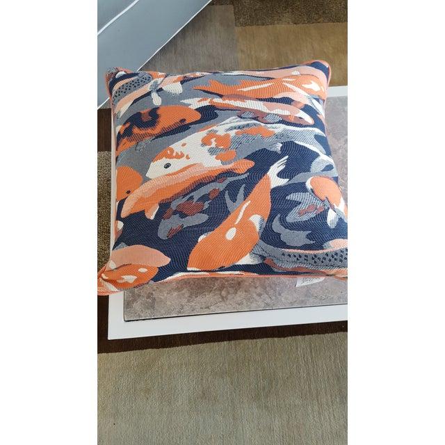 Contemporary Contemporary Beko Flamingo Pillows - A Pair For Sale - Image 3 of 9