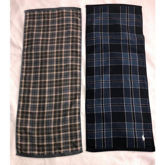 Ralph Lauren Tartan Plaid Polo Hand Towels - Image 6 of 6