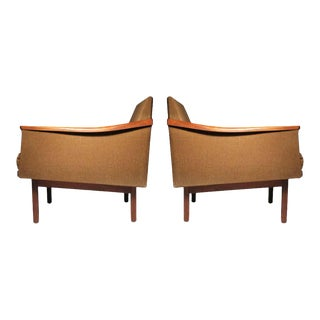 Arthur Umanoff Lounge Chairs - a Pair For Sale